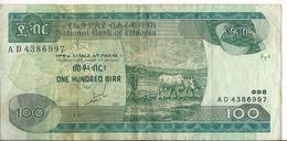 Etiopia - 100 Birr 1989 - P.50a - Ethiopië