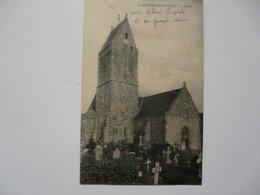 CPA 50 MANCHE - ST GEORGES DE LA RIVIERE : L'Eglise - Annotation Manuscrite De L'identité Des Personnages Sur La Carte - Frankreich