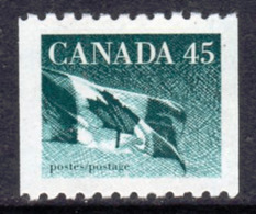Canada 1989-2005 Flag Definitives 45c Coil Value, MNH, SG 1364 - 1952-.... Reign Of Elizabeth II