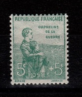 YV 149 N** 1ere Orphelin Cote 75 Euros - Nuovi