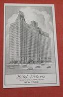 Hotel Victoria  51 St Street New York > New York City   Ref   3596 - Manhattan