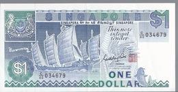 Singapore - 1 Dollaro 1987 - AUnc - P.18a - Singapour