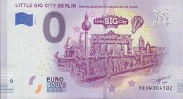 GERMANY O Euro Schein Berlin Little Big City - EURO