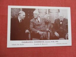 Casablanca Conference Jan 14-26  1943     Ref   3596 - History