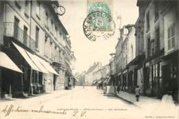 CREPY EN VALOIS HOTEL DE VILLE RUE NATIONALE - Crepy En Valois