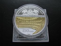 Ukraine Silver Coin 150 Years Shevchenko Opera Theatre 20 UAH 2017 Proof Rare - Ukraine