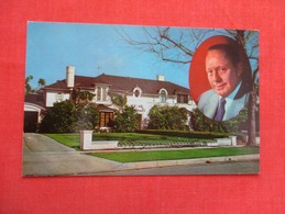 Home Of Jack Benny Beverly Hills Ca.     Ref   3596 - Entertainment