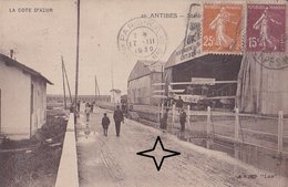 ANTIBES   Station AERONAVALE - (Hydravion). - Antibes