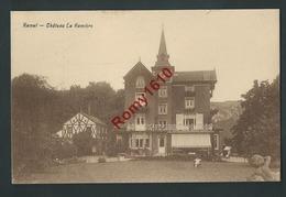 Ramet - (Flemalle)  Château La Ramière. 2 Scans. - Flémalle