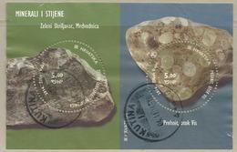 HR 2014-1150-1 MINERAL, HRVATSKA CROATIA, S/S, Used - Minerali