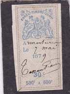 T.F. Effets De Commerce N°246 - Revenue Stamps