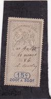 T.F. Effets De Commerce N°314 - Fiscaux