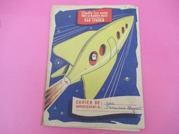 Protège-Cahier/Pain D'Epice/VAN LYNDEN/Couky Fait Route Vers Mars/Cahier De Soir/Francine MEYRAT/Vers 1950  CAH214 - Peperkoeken