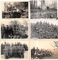 12 Photos - Exercices De Tir De Régiments Allemands - 1939-45