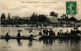 CPA ANDRÉZIEUX - Joutes Sur La Loire (430676) - Andrézieux-Bouthéon