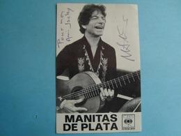 Artistes - Manitas De Plata - Autographe - Musik Und Musikanten
