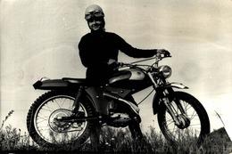 DERBI 74CC TRIAL 12*8'5cm Motards Moto MOTOCROSS MOTORCYCLE  Doug Douglas J Jackson Archive Of Motorcycles - Coches