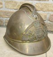 Coque De Casque M1885 Pompiers De Paris - 1914-18