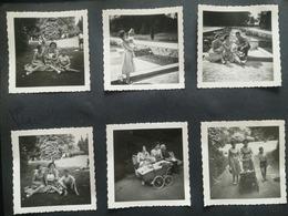 ANDERLECHT LA ROUE PARC D ANDERLECHT LOT 200  PHOTOS ORIGINALES NOIR-BLANC CENTRÉES SUR LES PERSONNES - Lieux