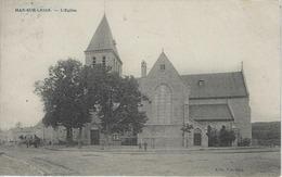 Han-sur-Lesse.   -   L'Eglise   -   1921   Naar   Spa - Rochefort