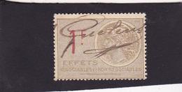 T.F. Effets De Commerce N°465 - Fiscaux