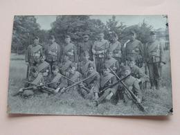 Peloton Te Identificeren ( Op Muts 2 ) Anno 19?? ( Fotograaf F. Van Camp DEURNE > Zie / Voir Photo ) ! - Guerra 1914-18