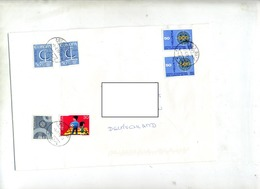 Lettre Cachet Glis Sur Europa Octi - Poststempel