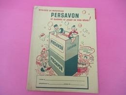 Protège-Cahier/Produit Ménager/ PERSAVON/ Lesieur/ Pour Votre Toilette/Vers 1950  CAH215 - Wassen En Poetsen