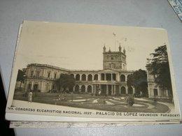 CARTOLINA CONGRESO EUCARISTICO NACIONAL 1937 - Paraguay