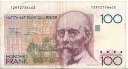 Belgio 100 Franchi 1982/94 - P.142 - [ 2] 1831-... : Regno Del Belgio