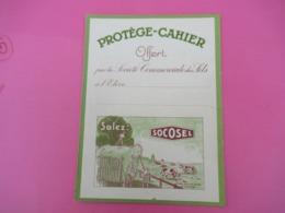 Protège-Cahier/Sel/ SOCOSEL/Offert Par La Société Commerciale Des Sels /Paris/ Schuster/Vers 1950  CAH217 - Papel Secante