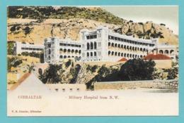 GIBRALTAR MILITARY HOSPITAL FROM N. W. - Gibilterra