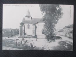 St  SULPICE - Le - GUERETOIS ( Creuse) - Place De L'Eglise - France