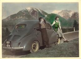 CPA / PHOTO AUTRICHE / AUTOMOBILE 1953 - Voitures De Tourisme