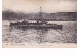 BATEAU DE GUERRE(ARBALETE) - Warships