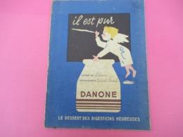 Protège-Cahier/Produits Laitiers/ DANONE/Le Dessert Des Digestions Heureusesr/Vers 1950  CAH218 - Leche