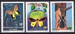 Benin 1980 Butterflies, Insects, Fauna, Flora. - Bénin – Dahomey (1960-...)