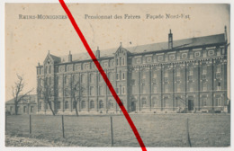 Reims Momignies - 1917 - Lazarett Im Pensionnat Des Frères - Stempel - Momignies