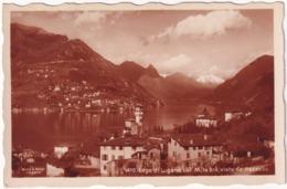 410. Lago Di Lugano  Col M. Te Brè, Visto Da Pazzallo - TI Ticino
