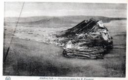 CPA - GIBRALTAR  - Vue Prise En Avion  (Photo Prise En Avion Par M. Flandrin) - Gibraltar
