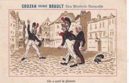 """CHROMO   (  42  SAIL  SOUS ) )  COUZAN  SOURCE  BRAULT  EAU  MINERALE  NATURELLE  """"  .  PUBLICITE  .  TRES  BEAU  . - Cromo"""