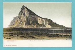 GIBRALTAR ROCK FROM SANTA BARBARA - Gibilterra