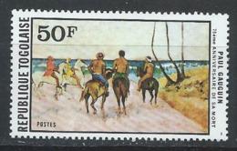 Togo YT 939 XX / MNH Art Peinture Gauguin - Togo (1960-...)