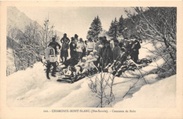 74-CHAMONIX-MONT-BLANC- CONCOURS DE BOBS - Chamonix-Mont-Blanc