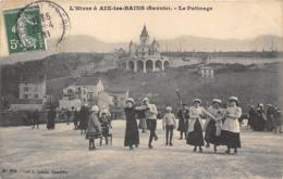 73-AIX-LES-BAINS- LE PATINAGE - Aix Les Bains