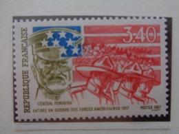 FRANCE 1987 CERES  N° 2462 ** - GENERAL PERSHING - Francia
