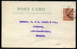 JERSEY - GB N°141 / CP OBL. JERSEY LE 3/3/1925 POUR LA FRANCE - TB - Jersey