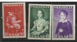 SARRE              N° YVERT   334/336    NEUF SANS CHARNIERES  ( Nsch  02/04 ) - Unused Stamps
