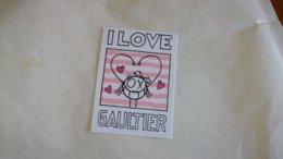 Carte Parfumée Gaultier I LOVE - Profumeria Moderna (a Partire Dal 1961)