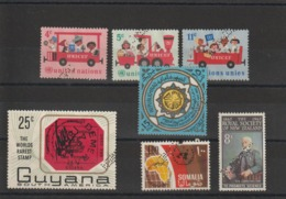 Pays Divers Lot De Timbres Perforés Specimen - Collections (without Album)